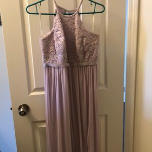 Bridesmaids dress in Lilac